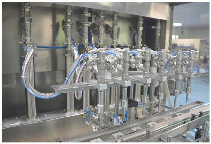 Fully Automatic Piston Filling Machine For Cosmetic Cream 1-28 Heads