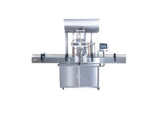 PLC Cosmetic Bottle Filling Machine / Bean Paste Weigh Filler Packaging Machine