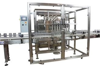 China Custom Made Automatic Bottling Equipment / Cooking Oil Filling Machine factory