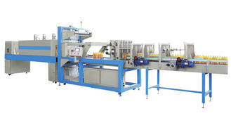 China Adjustable Speed Bottle Sleeve Machine , Automatic Sleeve Wrapping Machine factory